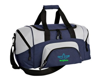 Cheerleading Gym Bag - Personalized - Monogrammed - Embroidered - Sports Bag - Sports Gift - Cheer Duffle Bag - BG990s