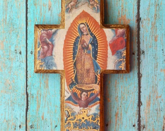 Our Lady of Guadalupe Cross - FREE SHIPPING