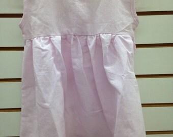 Pink Linen Dress jumper to embroider