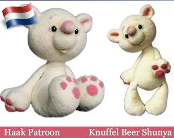 122NLY Haak Patroon - Knuffel beer Shunya - Amigurumi soft toy PDF file by Pertseva Etsy