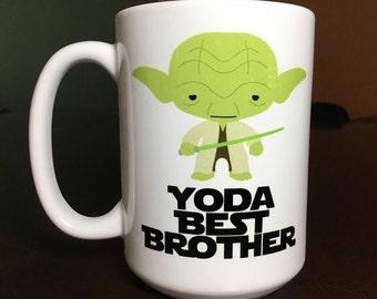 Yoda Best Brother Mug