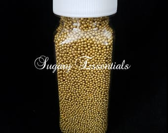 1-2 mm Gold Dragees (3 oz)