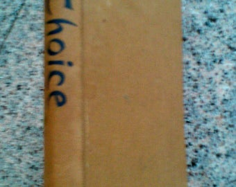 Rare! Choice, Some new Stories and Prose edited by William Sansom, First Edition 1946