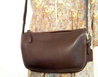 Vintage Brown Coach Purse made USA