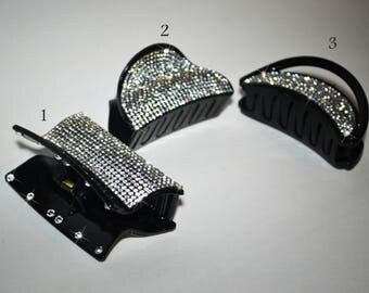 Fashion Hair Claws Hair Accessories for Women with rhinestones and Swarovski crystals
