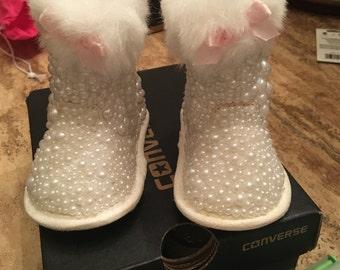 Custom infant boots
