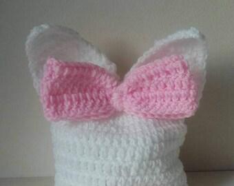 Baby bunny hat, crochet bunny hat, bunny hat, Easter bunny hat