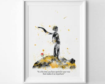 Le petit prince fox etsy Decoration le petit prince