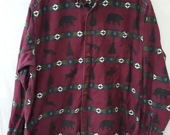 VIntage Woolrich Outdoors Shirt