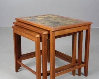 Retro Danish Nest Tables