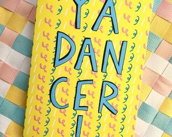 YA DANCER! Congratulations or Graduation Card, Quirky Scottish Slang Greetings Card