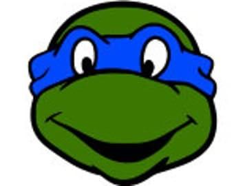 SVG, ninja turtles, turtles, leonardo, blue ninja turtle, cut file, printable,  cricut, silhouette, instant download