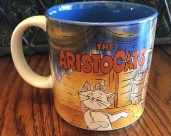 Vintage Disney Aristocats Coffee Mug