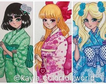Powerpuff Girls Fanrt Originals