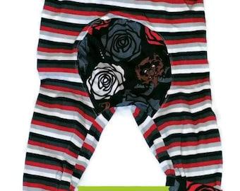 Pantalon évolutif la belle et la bête de taille 1