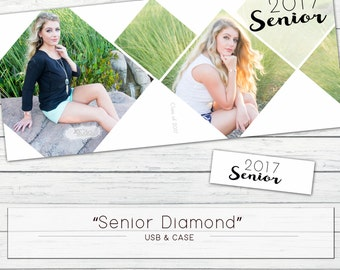 "USB Case ""2017 Senior Diamond"" WHCC Template"