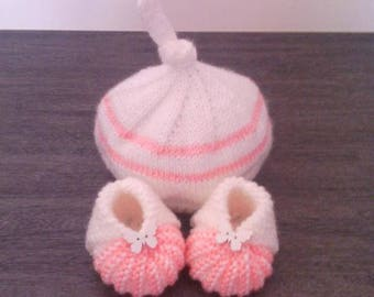 Hat shoes 0/3 months