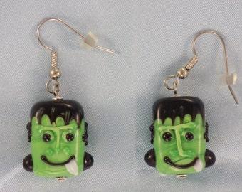 Frankenstein and Mummy Earrings