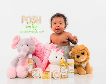 POSH Baby Gift Set ! Natural and Organic Goodness for your little angel