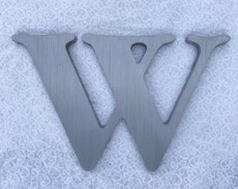 """W 12.5"""" metal sign letter"""
