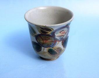 vintage oriental tea cup