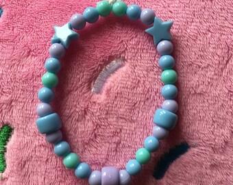 Fairy kei beaded bracelets!