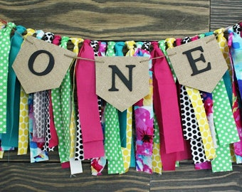 ADD-ON item only. Pendant overlay for fabric garlands. Highchair banner, fabric garlands, burlap banners, party banners, wedding decor