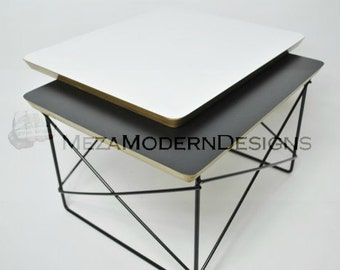 Eames Style LTR Metal Base- End Table