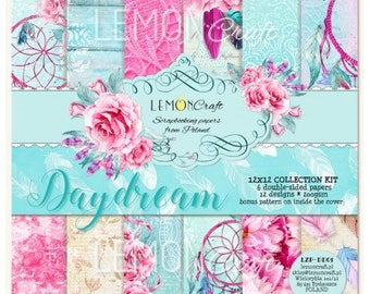 Lemoncraft Daydream 12x12 Scrapbook Papers