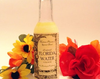 All Natural Handmade Pure Traditional Florida Water