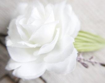 Bridal Hair Pins, Wedding Hairpins, white rose Hair pin, flower Bobby Pins, Hair Pin , hair pins wedding, flower hair pins, hair accessories