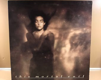 This Mortal Coil It'll End In Tears LP / Valentino 4AD Atco / Elizabeth Fraser Coctea Twins / 1984
