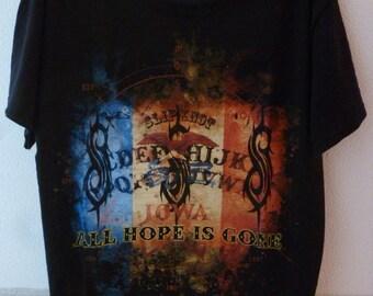 "Slipknot-""all hope is gone"" tour t.shirt-size L-unworn"
