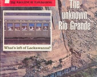 TRAINS JULY 1985 The Magazine of Railroading, Train Railroad Railroads Magazine!