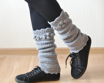 Leg warmers Christmas gifts|for|her Womens leg warmers Boot cuffs Knit leg warmers Womens gift Crochet leg warmers Boot warmers Boot socks