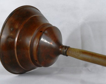 Copper dolly tub plunger