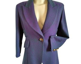 CHRISTIAN DIOR vintage - jacket - size 38FR