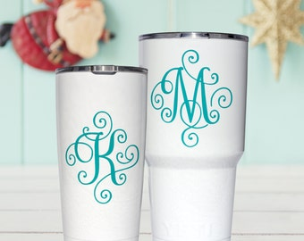 "Shop ""monogram for yeti cup"" in Kitchen & Dining"