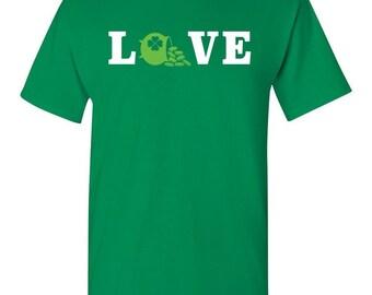 St Patricks Day Shirt St Paddys Day Shirt Irish Shirt Love Irish Shirt Love Ireland Shirt Bucket of Gold Shirt Leprechaun Shirt Shamrock