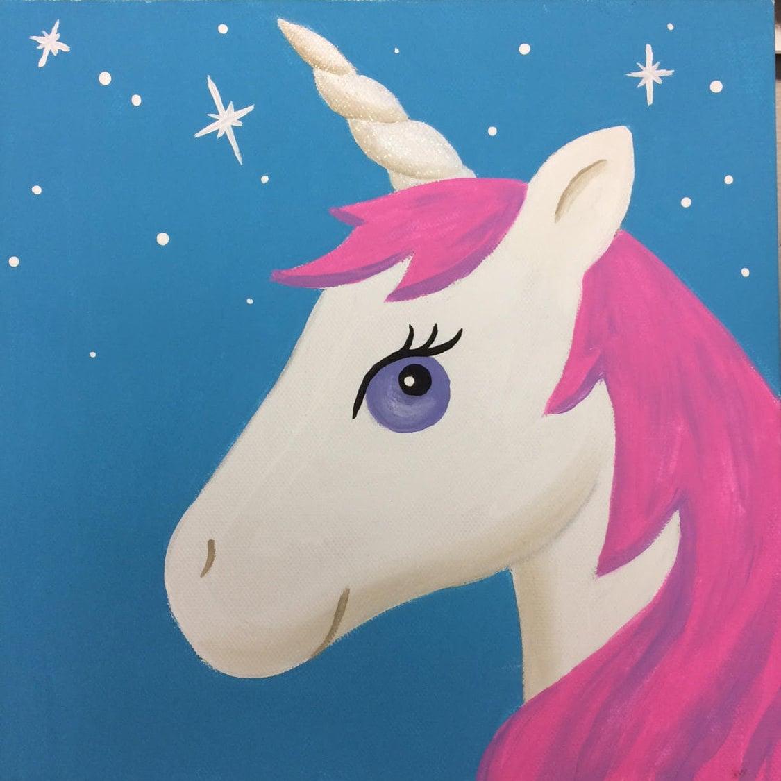 Best Seller Unicorn Paint Kit Diy Art Birthday Gift