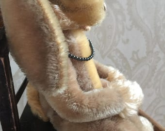 Vintage Steiff Lulac Bunny Rabbit with button in ear