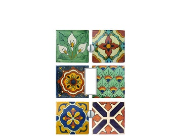 light switch plate cover mexican art pattern