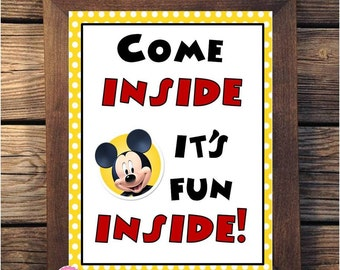 Hilaire image pertaining to come inside it's fun inside free printable