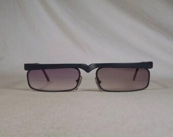 fabulous vintage sunglasses lunettes eyeglasses ALAIN MIKLI carved frame france