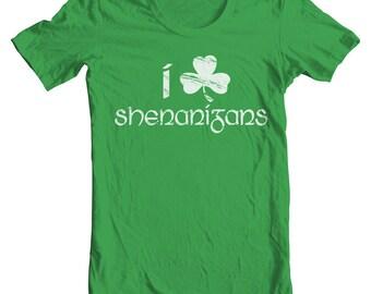 Irish Shirt Shenanigans Shirt Irish Leprechaun Shirt St Patrick Day Shirt Marching Bass Saxophone Player Shamrock Shirt Ireland Shirt