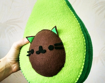 Avocado Plush- Small Pillow