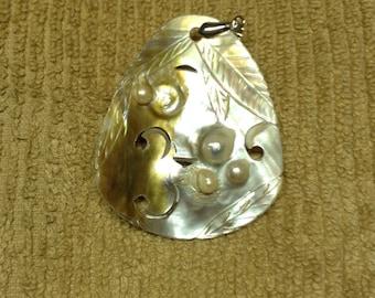 Beautiful Blister Pearl Pendant