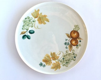 Mid Century Ben Seibel for Iroquois Old Orchard Dinner Plates 7 Available, Vintage Iroquois Informal Old Orchard Dinner Plate by Ben Seibel