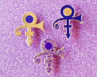 PRINCE TRIBUTE PINS / 1 Paisley Park, 1 Purple Rain, 1 Gold Experience love symbol /#Miner49ers by BUNCEandBEAN