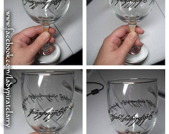Lord of the Rings Wine Glass